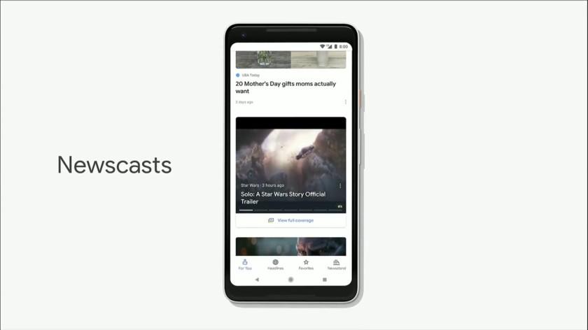 Google I/O 2018 - Google News