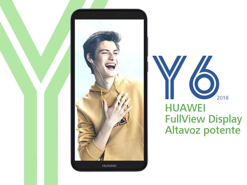 Huawei Y6 y Y7 - la serie Y de Huawei llega a España con características modernas y precio asequible