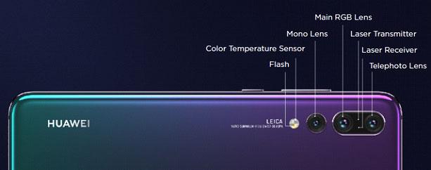 La innovadora triple cámara Leica de 40 MP - Huawei P20 Pro