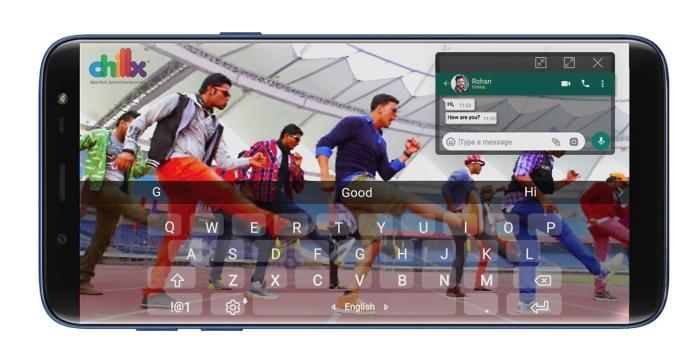 Samsung Galaxy J8 - pantalla
