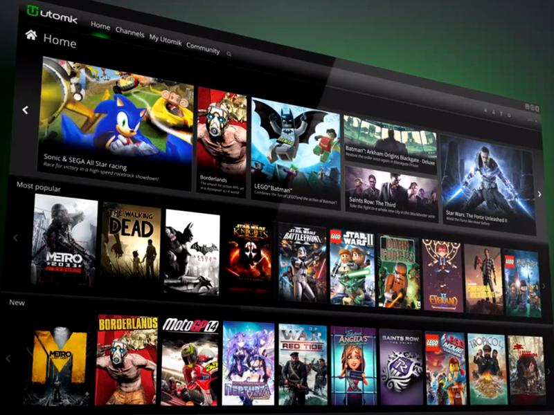 Utomik, el servicio de streaming para gamers