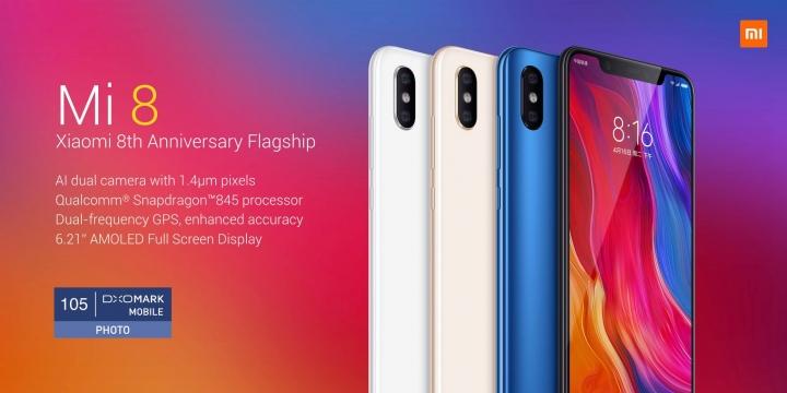 Xiaomi Mi 8 - DxoMark