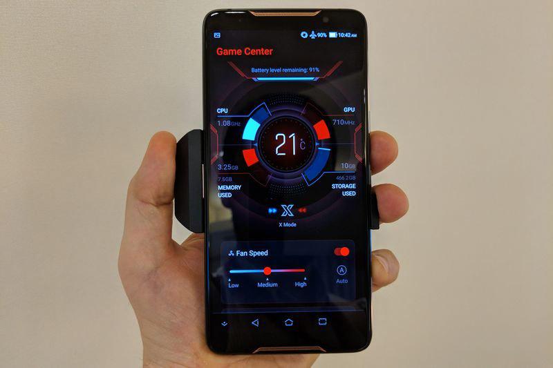 ASUS ROG Phone - UI