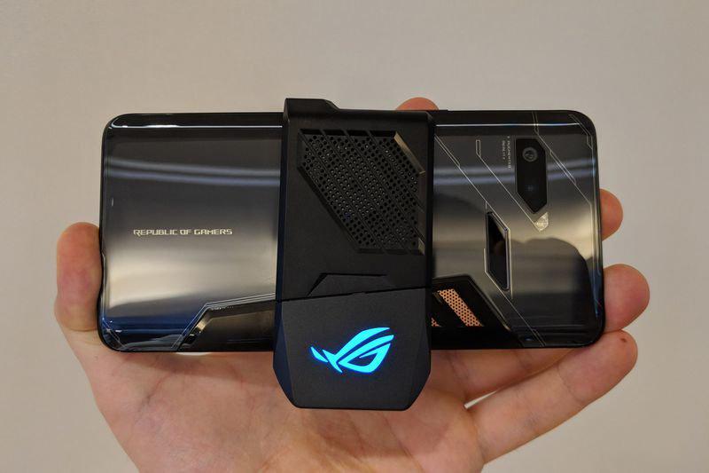 ASUS ROG Phone - Ventilador