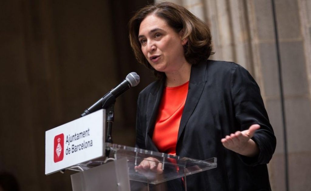 Ada Colau - Alcaldesa de Barcelona