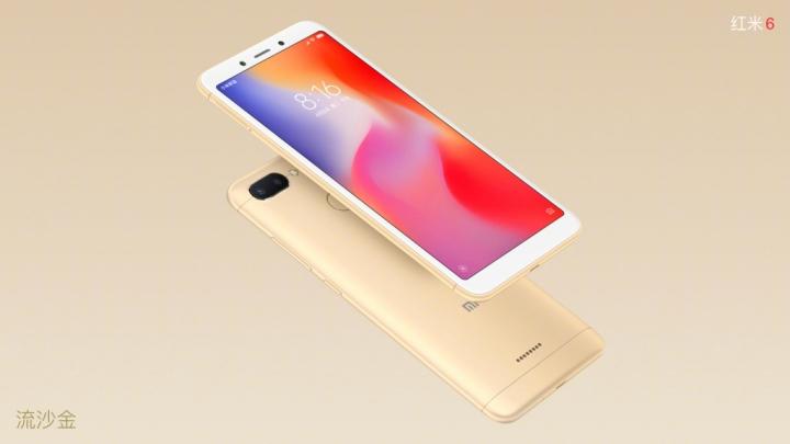 Xiaomi Redmi 6 - Dorado