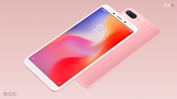 Xiaomi Redmi 6 - Rosa