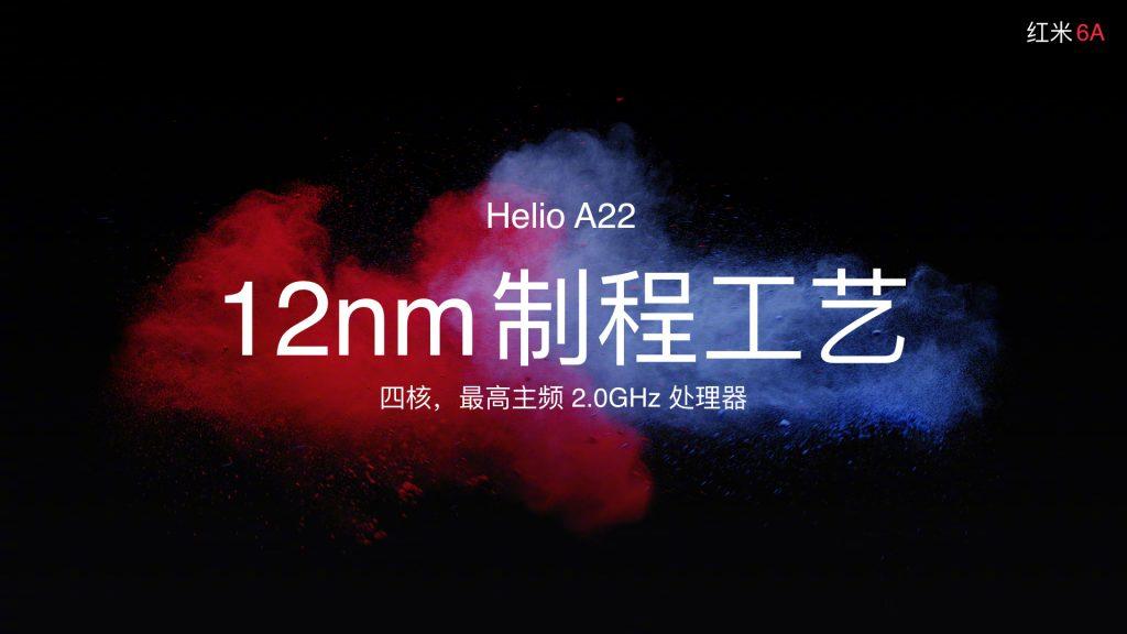 Xiaomi Redmi 6A - Helio A22