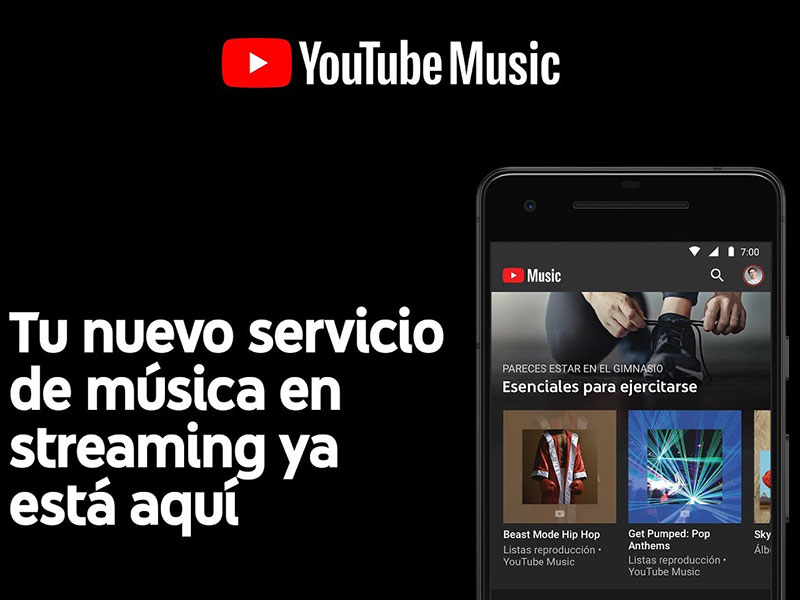 YouTube Music y YouTube Premium, ahora disponibles para España