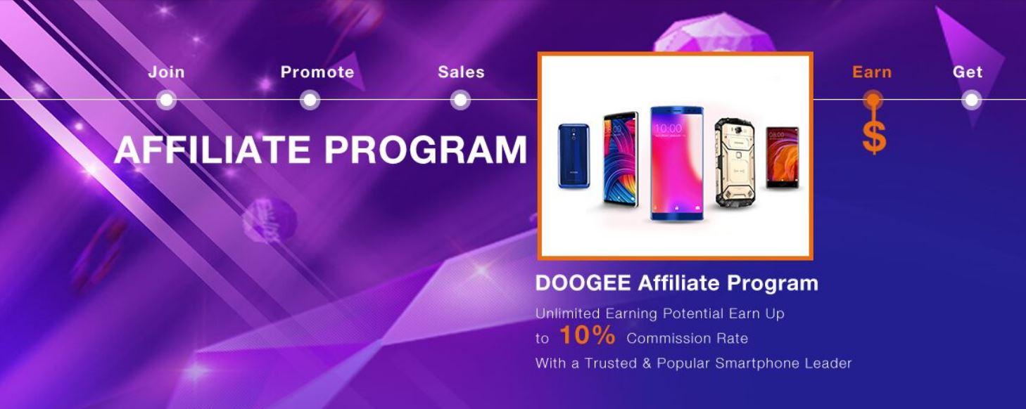 afiliados de DOOGEE