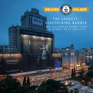 huawei record guinness