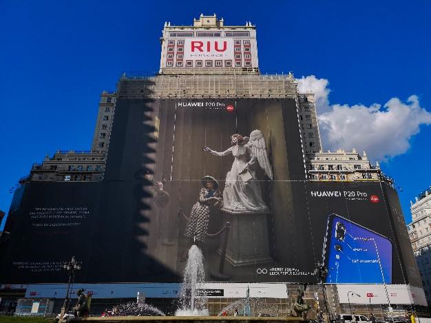 Huawei P20 Pro fotografía