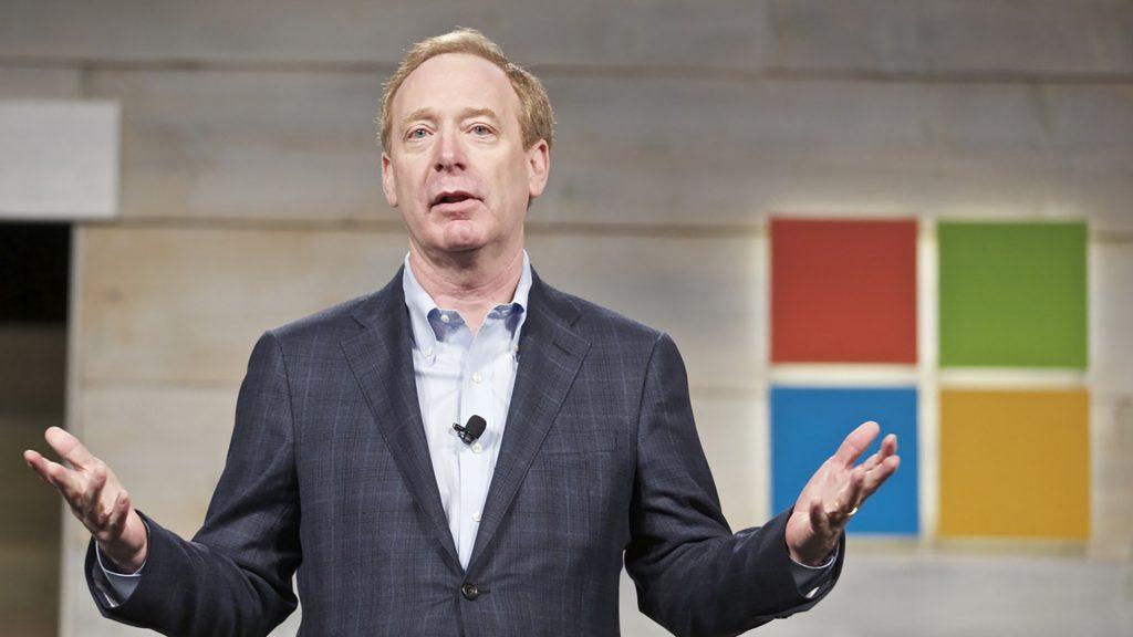 Brad Smith - Presidente y Director Jurídico de Microsoft