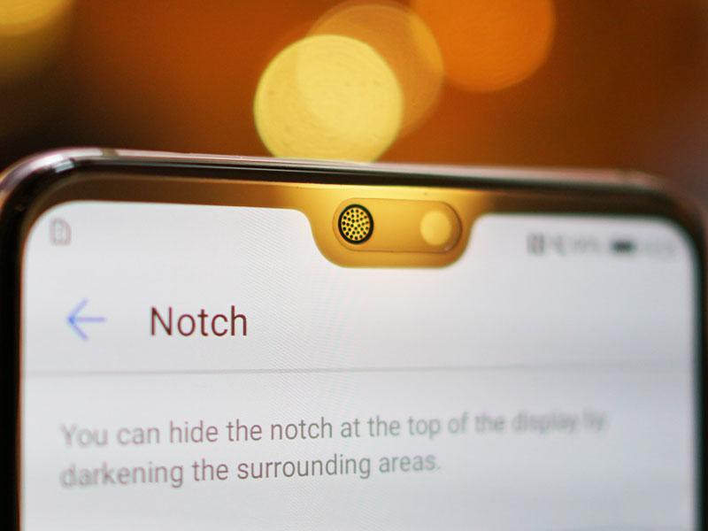 El próximo Smartphone de Huawei reemplazaría el Notch por un simple agujero