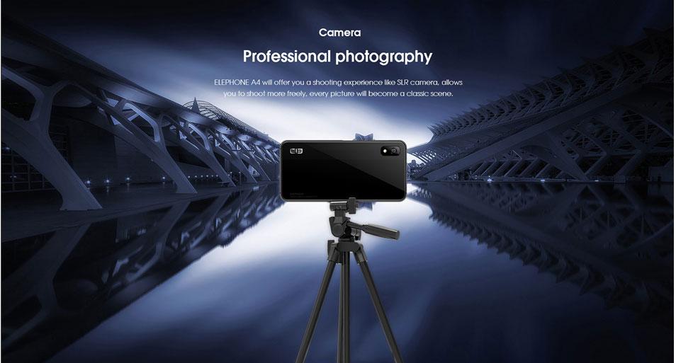 Elephone A4 - cámaras