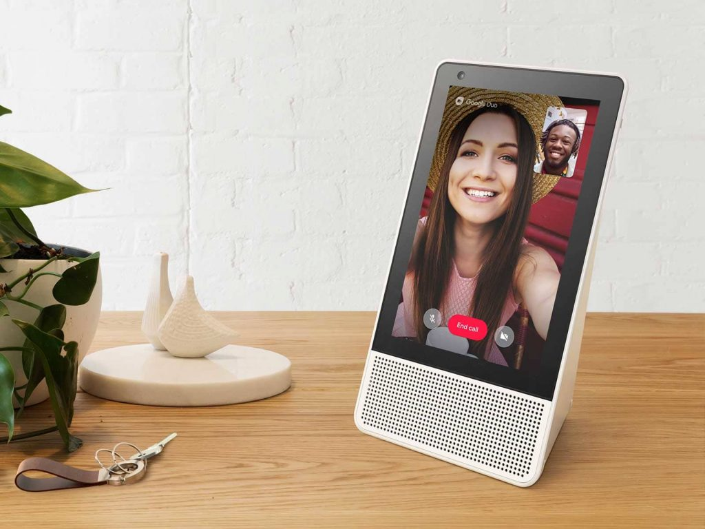Lenovo Smart Display - Google Duo