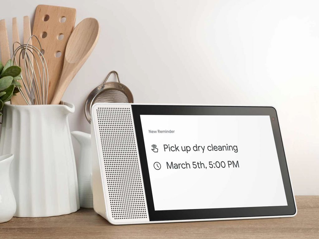 Lenovo Smart Display con Google Assistant