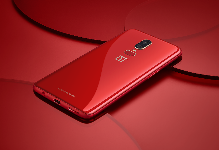 OnePlus 6 Lava Red