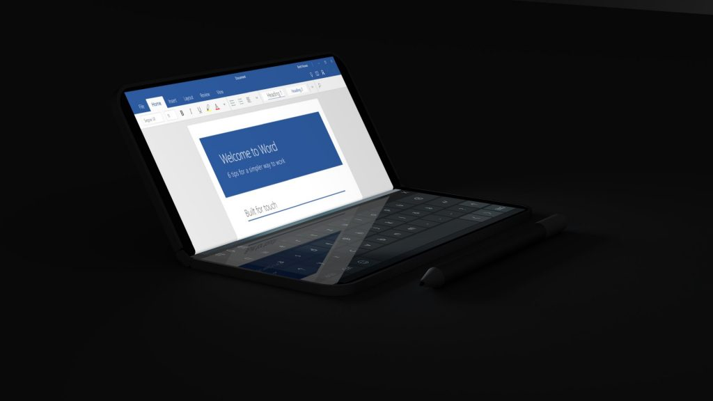 Surface Andromeda de Microsoft - Diseño conceptual 3
