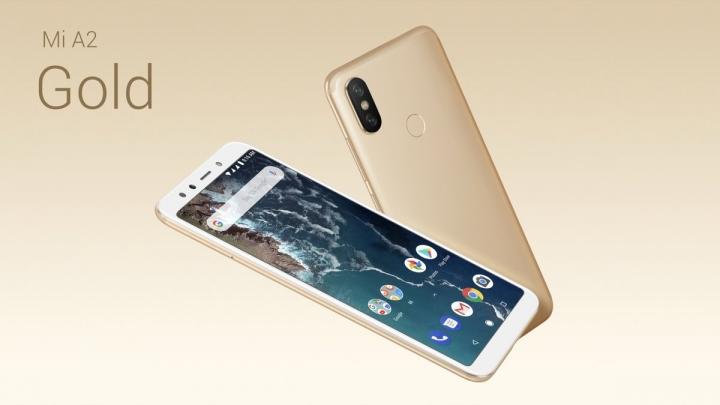 Xiaomi Mi A2 - dorado