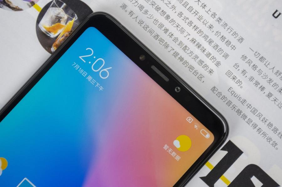 Xiaomi Mi MAX 3 - apariencia