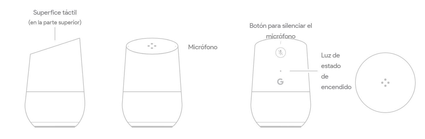 diseño google home