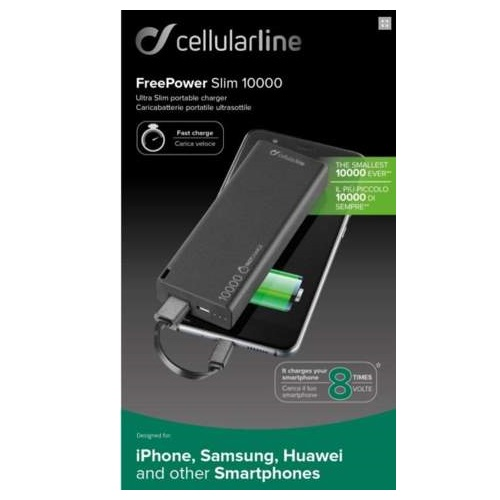 Cellularline Freepower Slim 10000