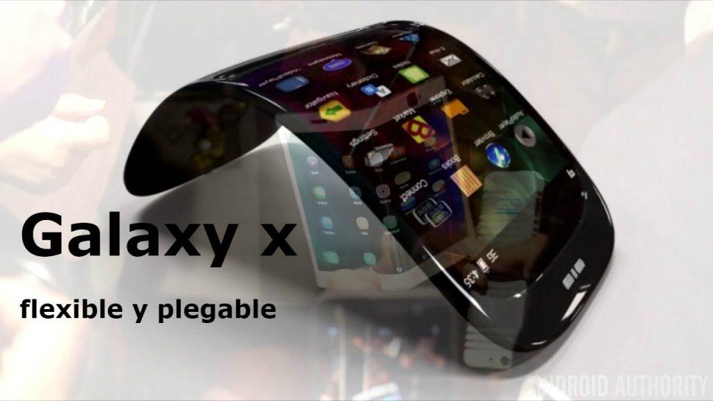 Diseño conceptual del Samsung Galaxy X - Móvil Plegable de Samsung