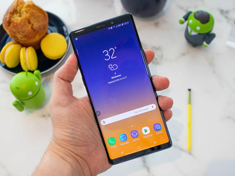 El Samsung Galaxy Note 9 tiene la mejor pantalla del mercado según DisplayMate
