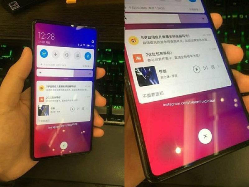 El Xiaomi Mi MIX 3 contaría con sensor de huellas en pantalla y se lanzará el 15 de septiembre