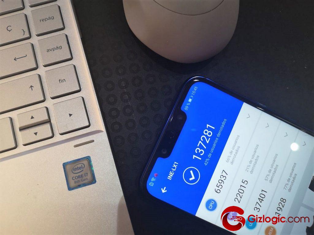 Huawei P Smart Plus antutu