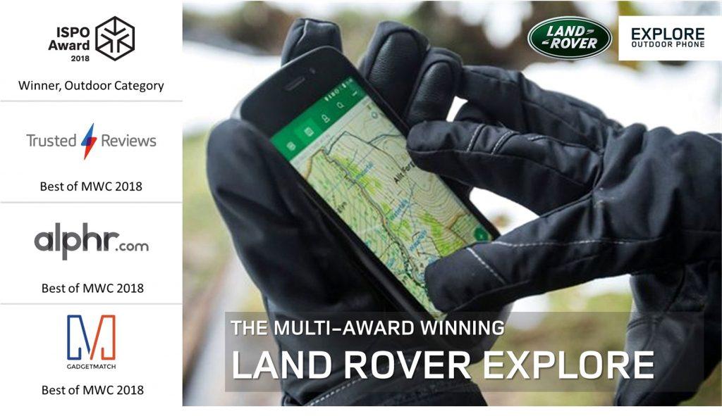 Land Rover Explore - especificaciones