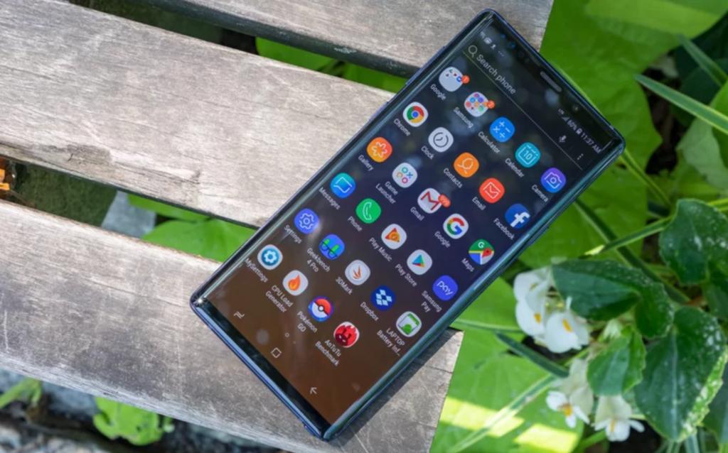 Samsung Galaxy Note 9 Pantalla