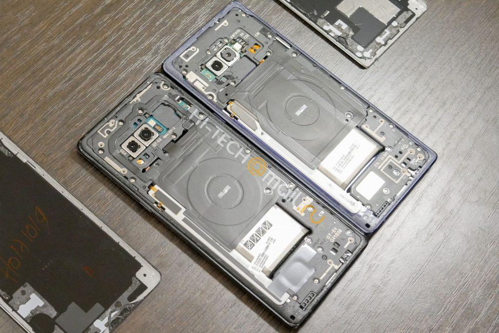 Samsung Galaxy Note 9 y Galaxy Note 8 - Interior 1