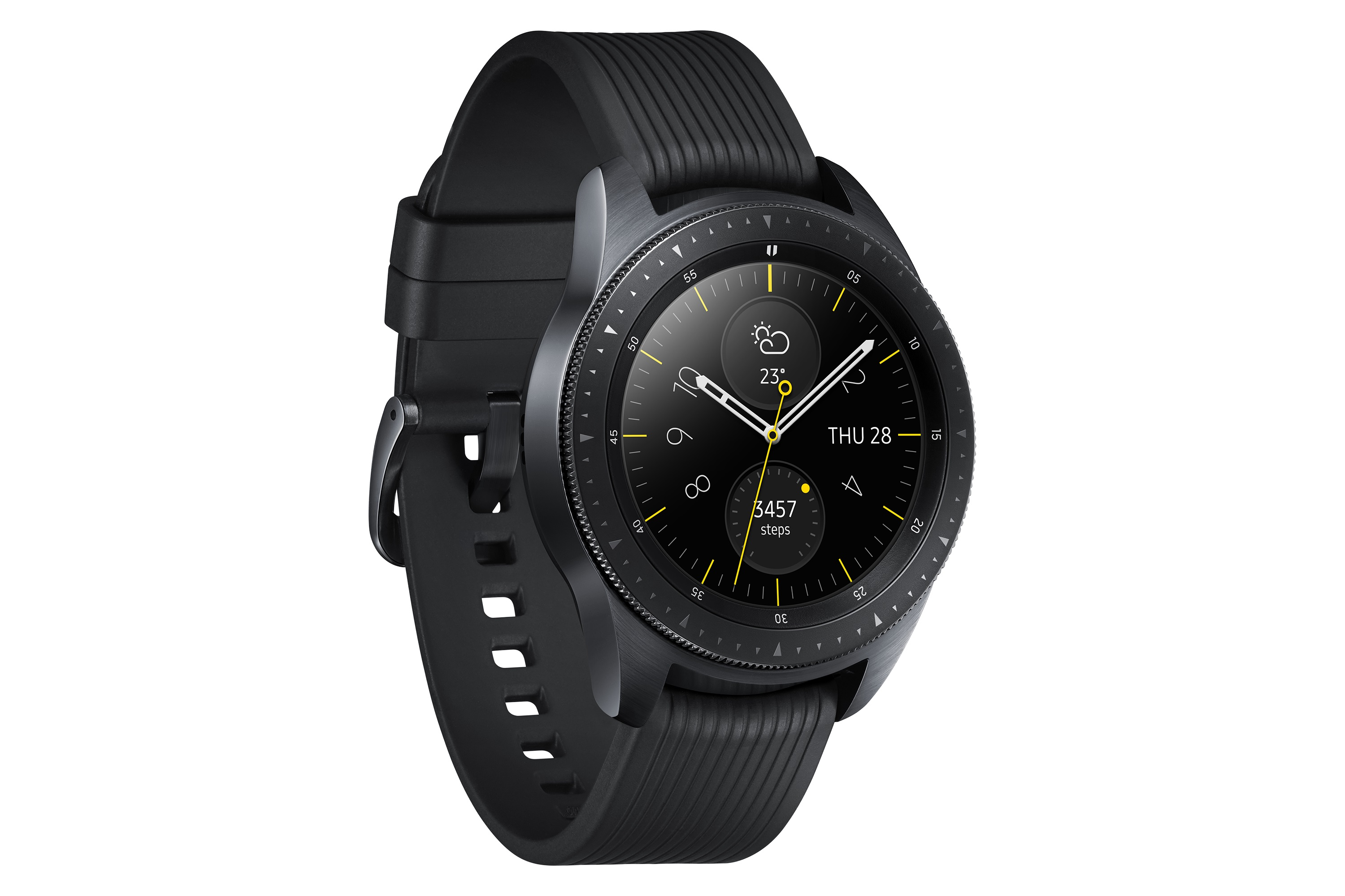 Samsung Galaxy Watch Negro Perspectiva de Medianoche