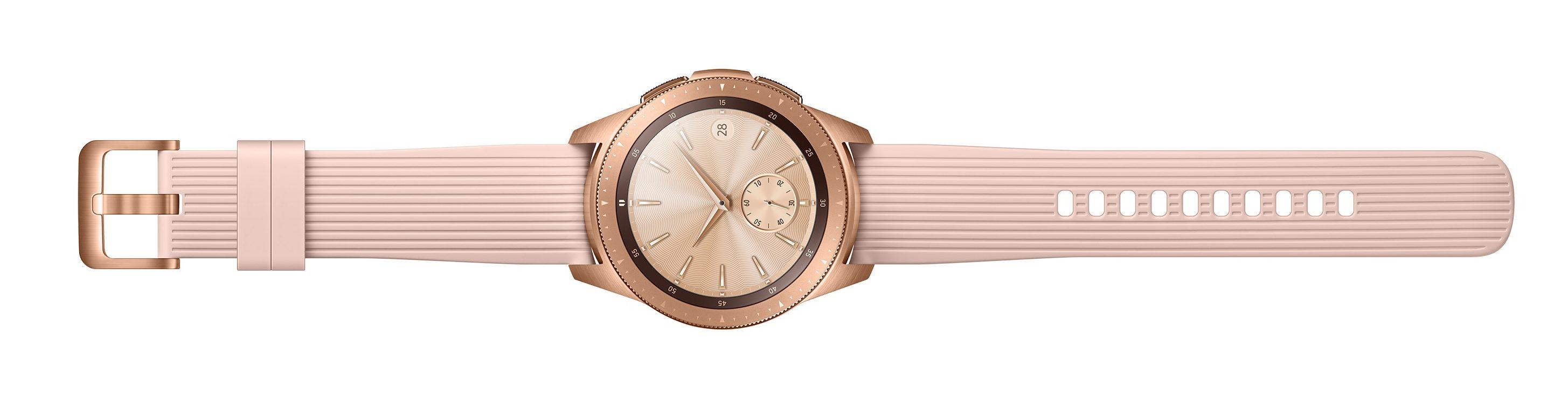Samsung Galaxy Watch Rosa Dorado Largo