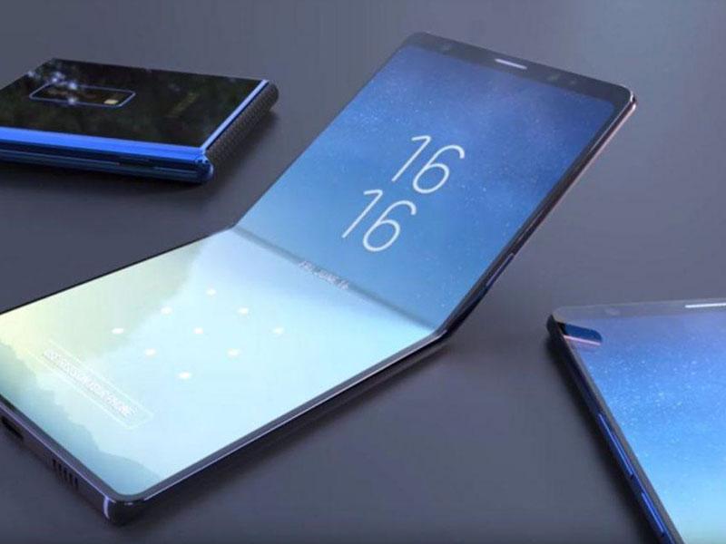 Samsung no ha renunciado a la idea de lanzar el primer Smartphone plegable
