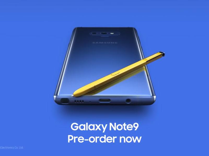 Se filtra un video promocional del Samsung Galaxy Note 9 - Hasta 1TB de memoria