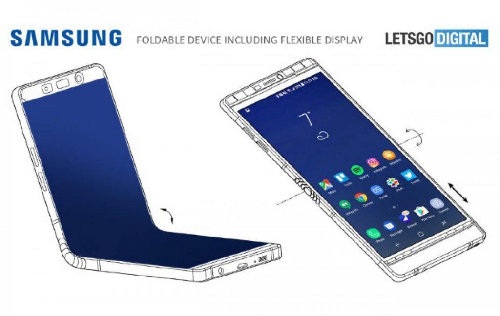 Supuesto Boceto del Samsung Galaxy X revelado por Lets go digital