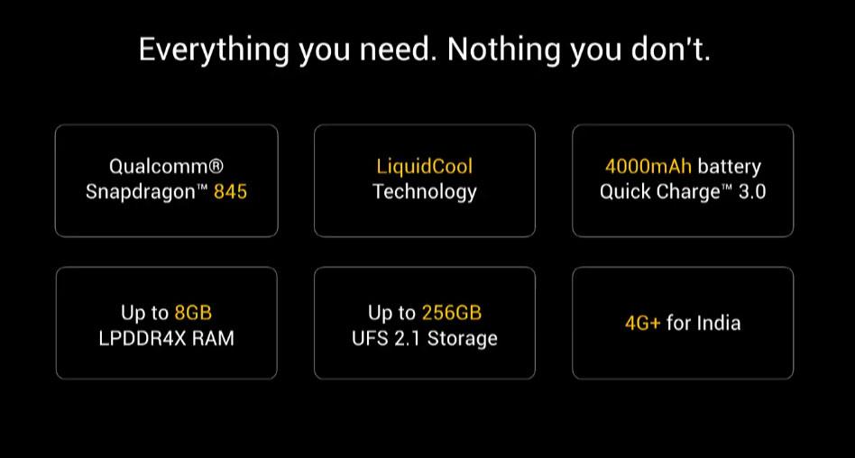 Xiaomi Poco F1 Hardware