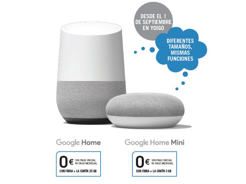 Yoigo Google Home