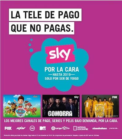 Yoigo Sky TV