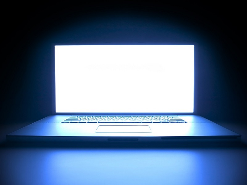 luz azul de las pantallas