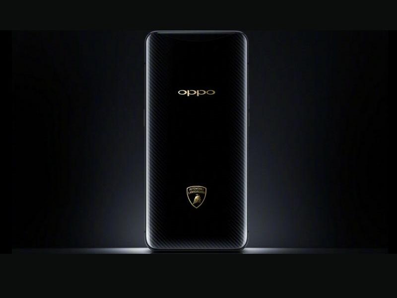 smartphone oppo find x lamborghini