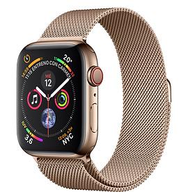 Apple Watch Series 4 - Correa Milanense Oro