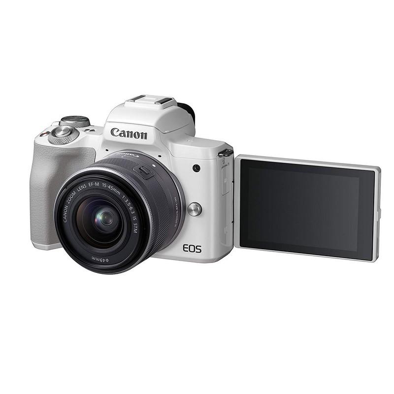 Canon M50, pantalla