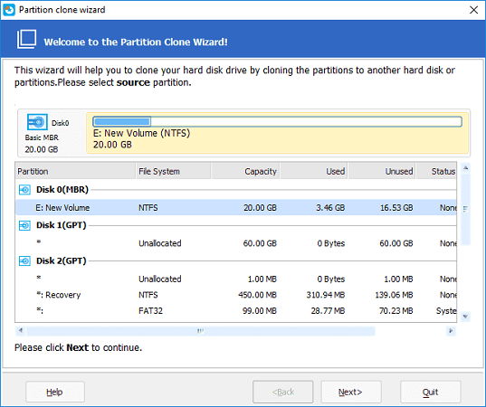 EaseUS Partition Master Free 12.10