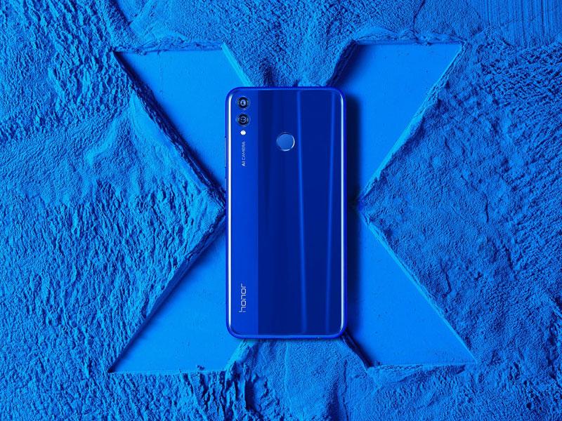 El Honor 8X es presentado, el primer Smartphone con certificado TÜV Rheinland