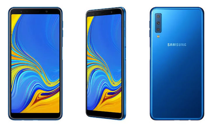 Galaxy A7 2018 - especificaciones