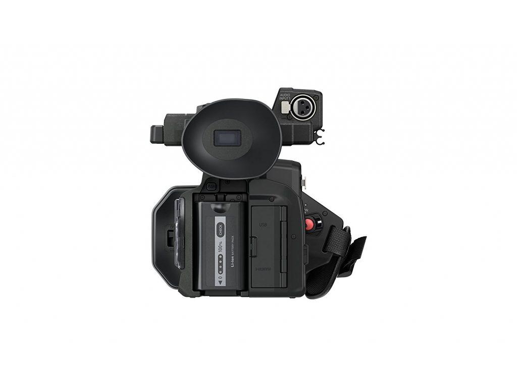 Panasonic HC-X1000, visor